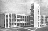 一九六O年代時期的工學院綜合大樓